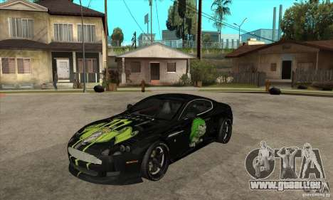 Aston Martin DB9 NFS PS Tuning pour GTA San Andreas