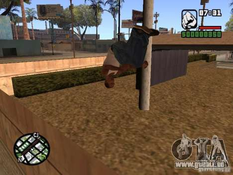 ACRO Style mod by ACID für GTA San Andreas dritten Screenshot
