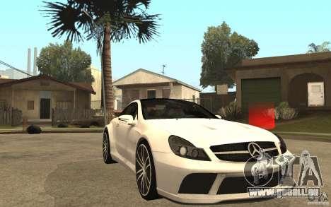 Mercedes-Benz SL65 AMG BS pour GTA San Andreas vue arrière
