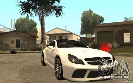 Mercedes-Benz SL65 AMG BS für GTA San Andreas Rückansicht