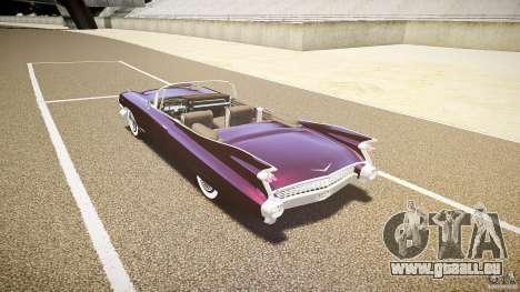 Cadillac Eldorado 1959 interior black pour GTA 4 est un droit