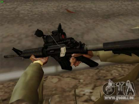 Colt Commando Aimpoint für GTA San Andreas her Screenshot