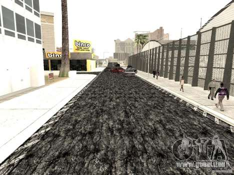 New roads in Las Venturas pour GTA San Andreas quatrième écran