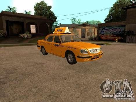Volga GAZ-31105 Taxi pour GTA San Andreas