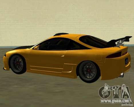 Mitsubushi Eclipse GSX tuning für GTA San Andreas rechten Ansicht