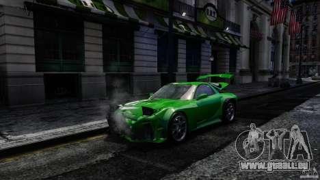 Mazda RX-7 Bushido für GTA 4 Rückansicht