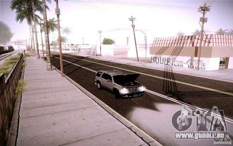 Cadillac Escalade pour GTA San Andreas vue de côté
