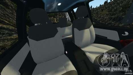 Chevrolet S-10 Colinas Cabine Dupla für GTA 4 Innenansicht