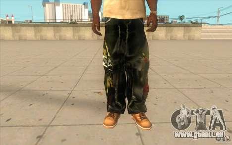 Hip-hop jeans pour GTA San Andreas