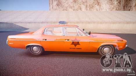 AMC Matador Hazzard County Sheriff [ELS] für GTA 4 Seitenansicht