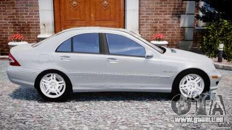 Mercedes-Benz C32 AMG 2004 pour GTA 4 est une gauche