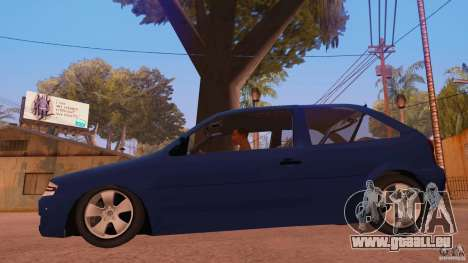 Volkswagen Gol G4 pour GTA San Andreas laissé vue