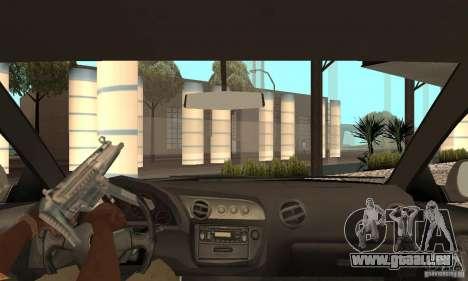 Acura RSX New für GTA San Andreas Innenansicht
