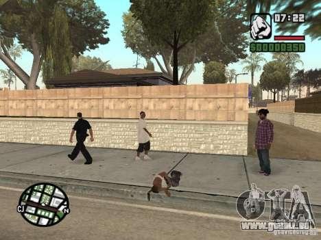 Schlafen für GTA San Andreas zweiten Screenshot