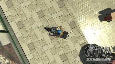 Zombie Bike Paintjob pour GTA 4 est un droit
