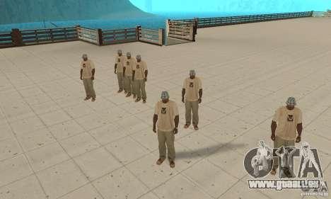 Eine Menge von CJ für GTA San Andreas her Screenshot