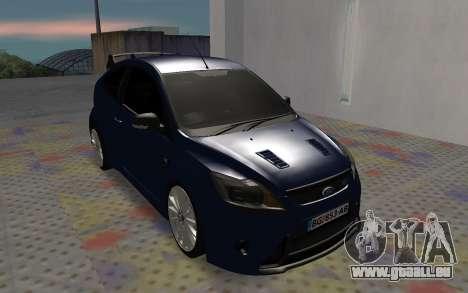 Ford Focus RS pour GTA San Andreas laissé vue