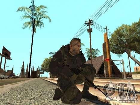 Captain MacTavish pour GTA San Andreas cinquième écran