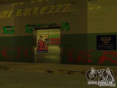 Corps de cadets de Krasnoïarsk pour GTA San Andreas huitième écran