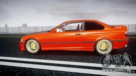 BMW E36 Alpina B8 pour GTA 4 est une gauche