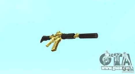 [GOLD] m4 pour GTA San Andreas