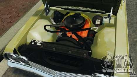 Chevrolet Impala SS 1964 pour GTA 4 vue de dessus
