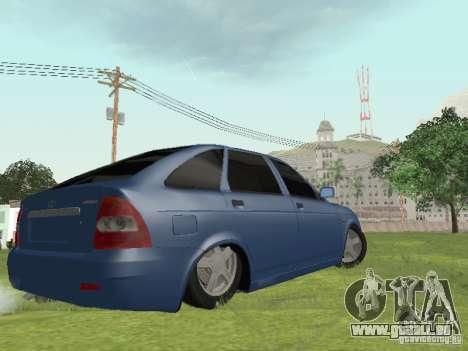 LADA 2170 Hatchback pour GTA San Andreas laissé vue