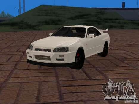 Nissan Skyline GT-R R34 Tunable für GTA San Andreas