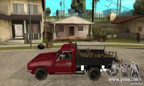 Anadol Pickup pour GTA San Andreas laissé vue