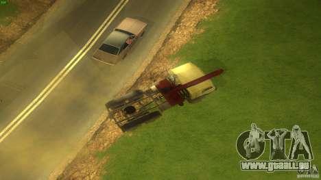 Kamaz pour GTA San Andreas vue de droite