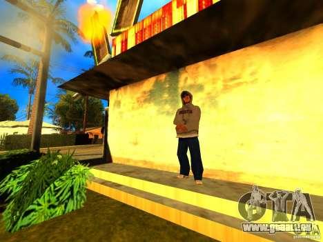 Mod Beber Cerveja V2 für GTA San Andreas her Screenshot