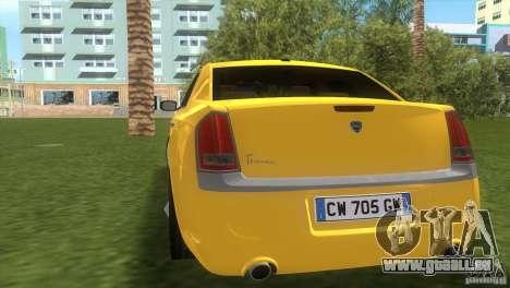 Lancia Nuova Thema für GTA Vice City rechten Ansicht