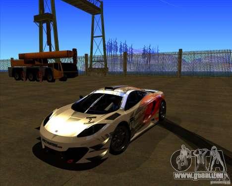 McLaren MP4 - SpeedHunters Edition pour GTA San Andreas