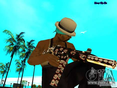 Trollface weapons pack für GTA San Andreas dritten Screenshot