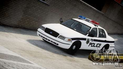 Ford Crown Victoria FBI Police 2003 pour GTA 4