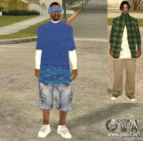 Compton Crips pour GTA San Andreas troisième écran