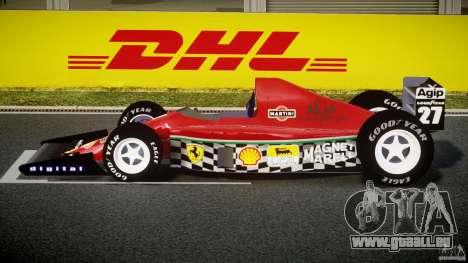 Ferrari Formula 1 pour GTA 4 est une gauche
