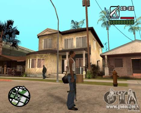 MP 40 für GTA San Andreas dritten Screenshot
