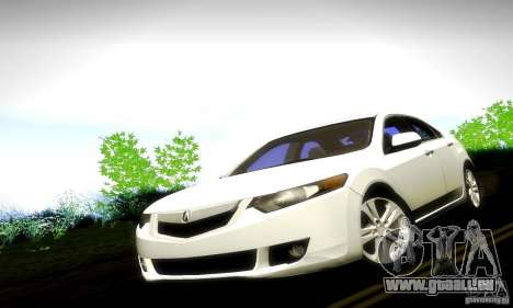 Acura TSX V6 pour GTA San Andreas vue de droite