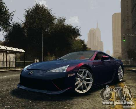 Lexus LF-A pour GTA 4