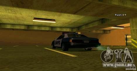 Merit Police Version 2 pour GTA San Andreas vue de droite