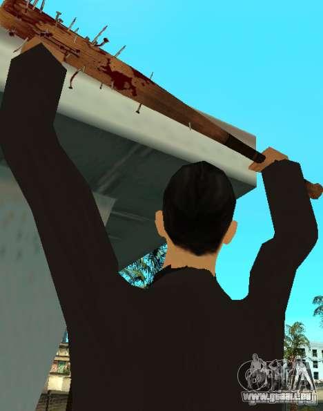 Bits sanglantes avec clous HD pour GTA San Andreas deuxième écran