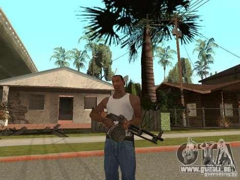 Leichtes Maschinengewehr Dâgterëva für GTA San Andreas