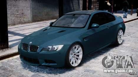 BMW M3 E92 stock pour GTA 4 est une gauche