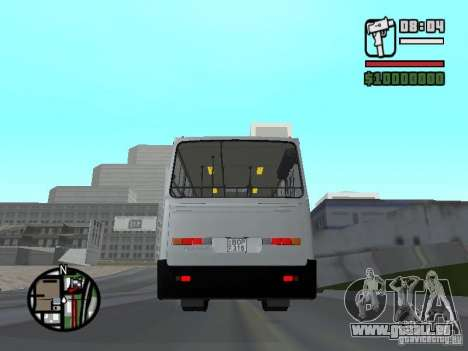 Ikarus 260.06 pour GTA San Andreas sur la vue arrière gauche