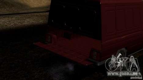 IZH 27175 pour GTA San Andreas moteur