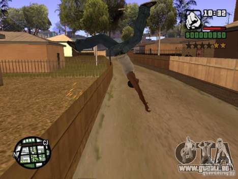 ACRO Style mod by ACID pour GTA San Andreas