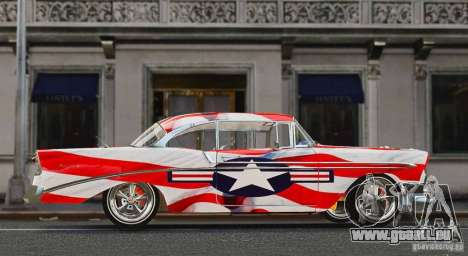 Chevrolet Bel Air Light Custom 1956 für GTA 4 linke Ansicht