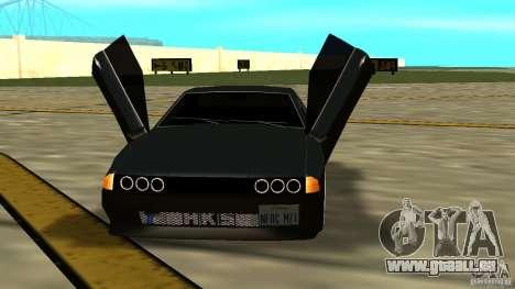 Elegy MIX V.1 pour GTA San Andreas vue de droite