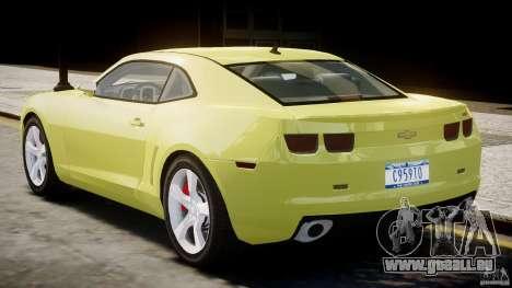 Chevrolet Camaro SS 2009 v2.0 für GTA 4 rechte Ansicht